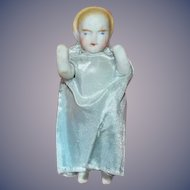 Antique Doll Miniature Alice Doll Dollhouse Jointed Arms Bisque Sweet