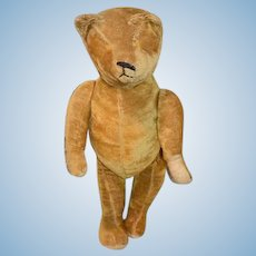 Old Teddy Bear Mohair Jointed Large Adorable Doll Friend