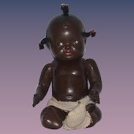 Antique Doll Black Baby Doll Jointed Sweet Composition