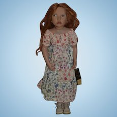Zwergnase Artist Doll Leonille W/ Tag No. 30 /250 Gorgeous Red Head