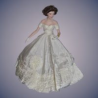 Wonderful Jackie Kennedy Porcelain Doll Gorgeous Artist Doll