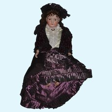 Wonderful Doll Outfit W/ Removable Train Hat Jacket Skirt Fancy