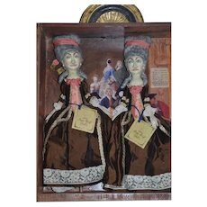 Artist Doll Set Peter Wolf Artist Doll Set in Case Twins Only 30 Made