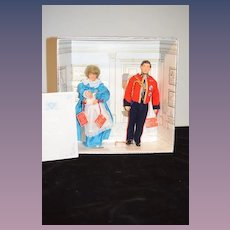 Vintage Royal Baby Boy Commemorative Set By House of Nisbet English  Boxed Set Doll