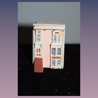 Vintage Doll Artist Dollhouse Miniature Dollhouse for your Dollhouse Wood and Metal