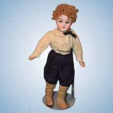 Antique Doll Simon & Halbig Bisque  Antique Clothing and Boot Covers Jointed