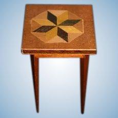 Miniature Doll Wood Table Dollhouse