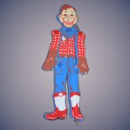 Vintage Doll Howdy Doody Jointed Vinyl Pen Unusual