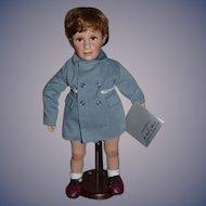 Vintage Doll John F. Kennedy JR. W/ Tag