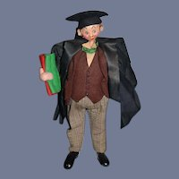 Vintage Cloth Doll The Graduate Klumpe