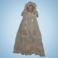 Antique Doll Bisque Bye Lo Baby Grace S. Putnam Gorgeous W/ Body Stamp