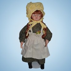 Vintage Doll Artist Faith Wick Doll Signed and Numbered