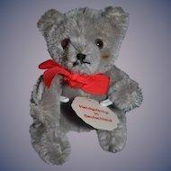 Vintage Doll Friend Hermann Miniature Mohair Teddy Bear