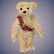 Wonderful Steiff Teddy Bear W/ Signed Paw Ear Button Tag Jointed