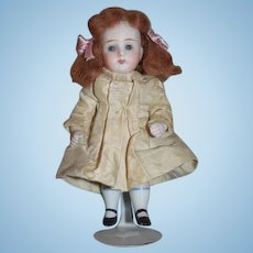 Antique Doll Miniature All Bisque Dollhouse Charming Great Clothes
