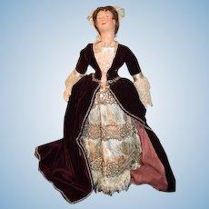 Wonderful Doll Evelyn Green Portrait Doll GORGEOUS 1940's
