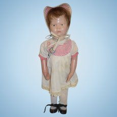 Antique Doll Wood Carved Schoenhut Doll Walker Body ADORABLE