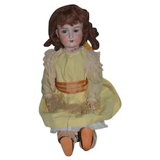"Antique Doll Bisque Head Armand Marseille 24"""