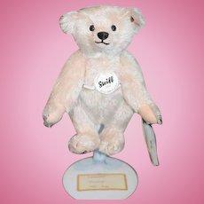 """Steiff Teddy Bear Jointed Mohair Steiff Club Bear 8"""" Tall"""