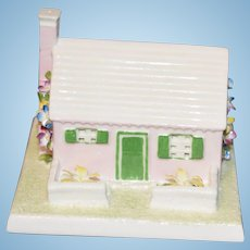 Wonderful Miniature Cottage The Bermuda Cottage By Coalport Porcelain Made in England