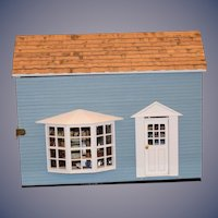 Wonderful Miniature Doll Shop W/ Miniature Dolls & Accessories Hats Sewing Accessories and More Dollhouse