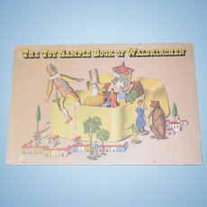 The Toy Sample Book of Waldkirchen W/ Hard Case Limited Edition of 350 Toys and Dolls