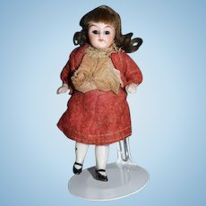 Antique Doll All Bisque French Market Miniature Dollhouse