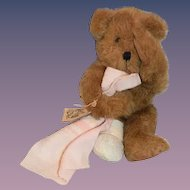 Wonderful Teddy Bear B&D Originals Teddy Bear Crying W/ Broken Leg TOO CUTE!! Signed On Paw