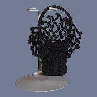 Wonderful Doll Crochet Fancy Purse Fashion Doll Size Ornate