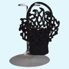 Wonderful Doll Crochet Fancy Purse Fashion Doll Size Ornate