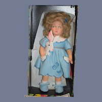 Vintage Lenci Cloth Doll In Original Box Bettina 1984 W/ Tags & Booklet