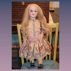 "Antique Doll French Bisque S.F.B.J. Gorgeous 26 1/2"" Tall"