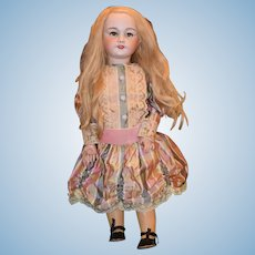 """Antique Doll French Bisque S.F.B.J. Gorgeous 26 1/2"""" Tall"""