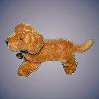 Vintage Dog Steiff Mohair Jointed