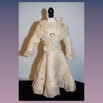 Antique Doll Dress Lace Trim For Fashion Doll