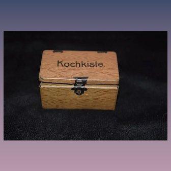 Old Doll Tin Litho Miniature Cook Box Kochkiste For Dollhouse