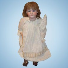 "Antique Bisque Doll Simon & Halbig Handwerck DEP GORGEOUS FACE 30"" Tall Big Girl French Market"