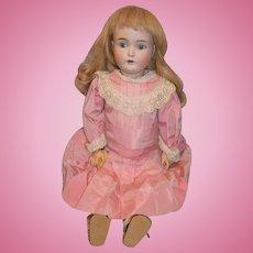 "Antique Doll Kestner 171 24"" Tall Gorgeous Face  Dressed"