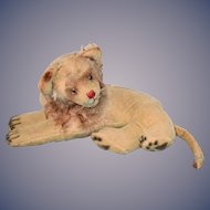 Old Lion Tiger Mohair Steiff Jointed Head