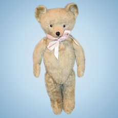 Old Teddy Bear Jointed Mohair Jointed Adorable