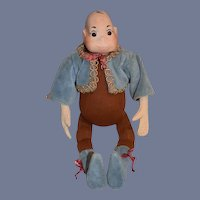 Artist Doll Brownie By Norma Rodenbaugh Wonderful Large