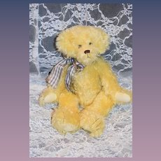 "Artist Teddy Bear Connie Roark Jointed  Limited Edition ONLY 12 Made ""Sunny"""