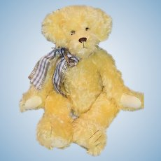 """Artist Teddy Bear Connie Roark Jointed  Limited Edition ONLY 12 Made """"Sunny"""""""