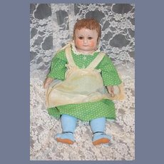 Antique Doll Alabama Baby Oil Cloth