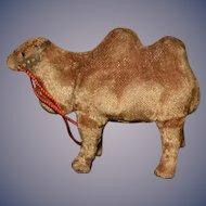 Vintage Doll Toy Miniature Key Wind Up Camel WORKS!