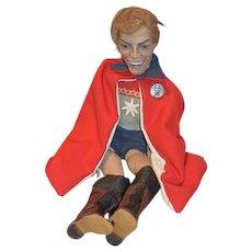 Vintage Ron Kron Artist Doll Movie Flash Gordon Buster Grable Super Hero