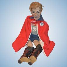 Vintage Ron Kron Artist Doll Movie Flash Gordon Buster Grable Super Hero