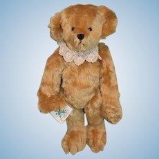 Sweet Artist Teddy Bear Shamrock Bears By Monica Jointed Mohair Glass Eyes