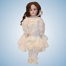 "Antique Doll Kestner 171 Bisque Head Wonderful Clothes 24"" Tall"