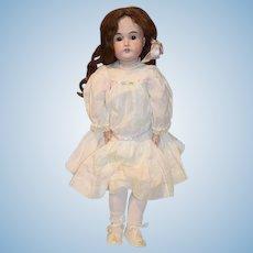 "Antique Doll Kestner 171 Bisque Head Wonderful Clothes 24"" Tall"